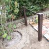 植木、ツルバラ等の支柱
